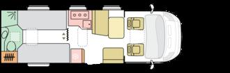 Dnevni tloris S 670 SLT
