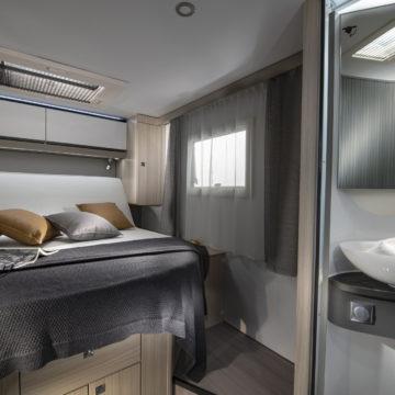 Adria Compact SC Supreme - postelja