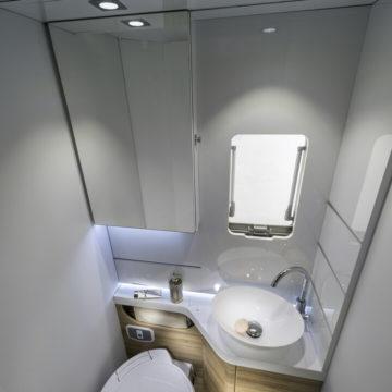 Avtodom Adria Sonic Plus 700 SL - kopalnica