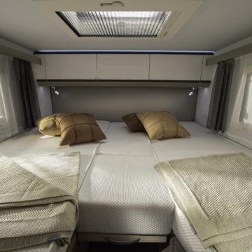 Avtodom Compact Plus DL - združeni postelji