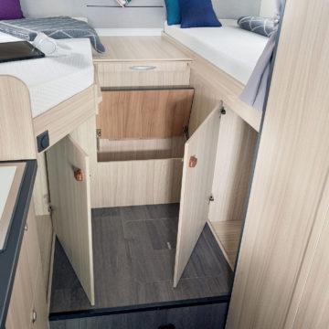 Avtodom Sun Living S 65 SL - prostor pod posteljo