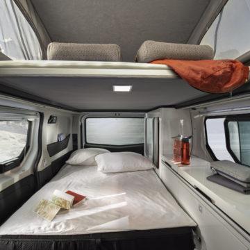 Dvižna postelja v vanu Adria Active