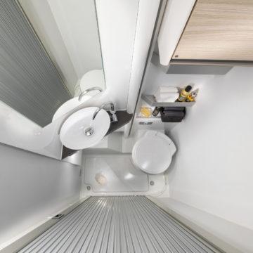 Kopalnica v avtodomu Compact Axess SP - toaleta