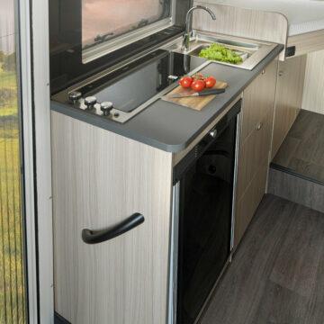 Kuhinjski blok v Sun-Living C 65 SL