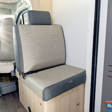 Peti sedež v Adriinem avtodomu Sun Living S 75 SL