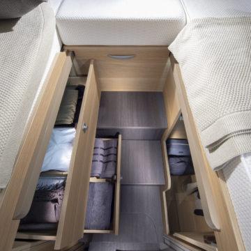 Predali pod posteljo v Adriinem avtodomu Matrix Plus 670 SL