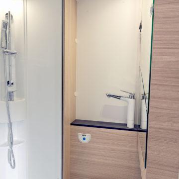 Sun Living A 70 DK - kopalnica z zaprtim umivalnikom