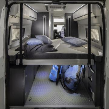 Van Adria Twin Supreme 640 SGX - zadnja postelja