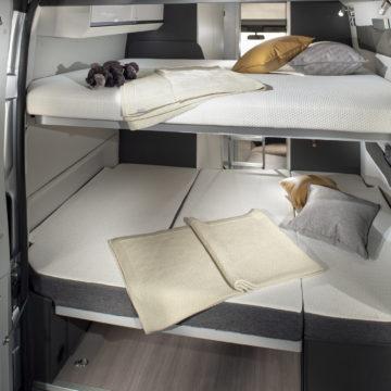 Zadnji postelji v Adriinem Twinu Supreme 640 SPB